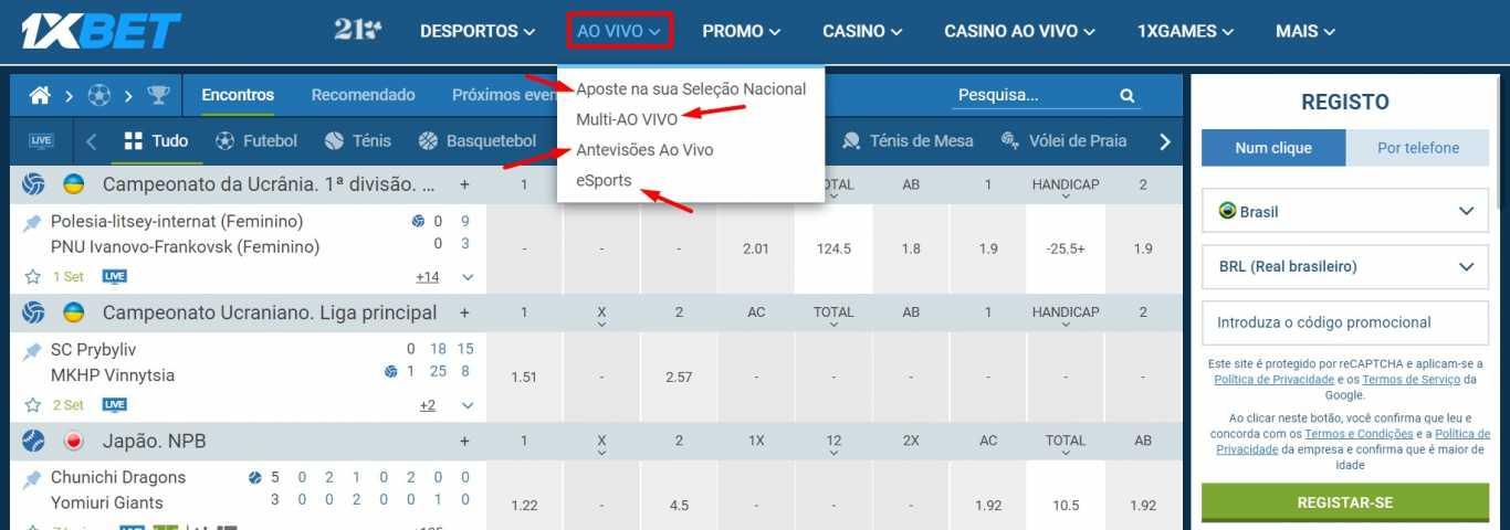 Por que precisa de registo na 1xBet Brasil